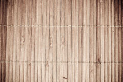 Bamboo mat texture Royalty Free Stock Photography