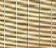 Bamboo mat texture Stock Photos