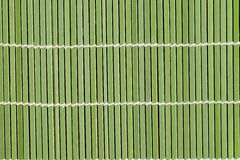 Bamboo Mat Texture Royalty Free Stock Images