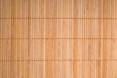 Bamboo mat texture Royalty Free Stock Photos