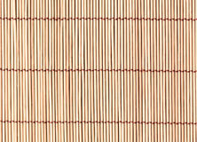 Bamboo mat. Texture Abstract background Royalty Free Stock Photo