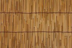 Bamboo mat Royalty Free Stock Photos