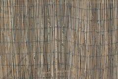Bamboo mat texture Stock Photos