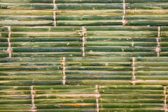 Bamboo mat of Thai at the weekend market. Royalty Free Stock Photo