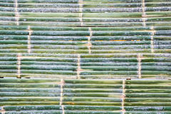 Bamboo mat of Thai at the weekend market. Royalty Free Stock Photography