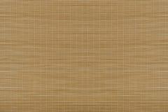 Bamboo mat. Top view. Stock Photo