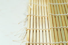 Bamboo mat two side Stock Images
