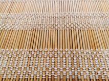 Bamboo mat stock photography