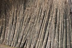 Bamboo materials Royalty Free Stock Image
