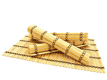Free Bamboo Mats Royalty Free Stock Photos - 11336588