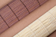 Bamboo mats Stock Photography