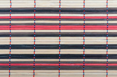 Bamboo mats Royalty Free Stock Photos