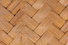 Bamboo matting background. Stock Photo