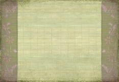bamboo mauve grunge цветка Стоковая Фотография RF