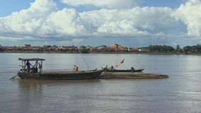 Bamboo, mekong, cambodia, southeast asia Stock Photos