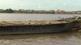 Bamboo, mekong , cambodia, southeast asia Stock Image