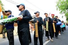 Bamboo music Stock Image