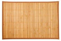 Bamboo napkin Royalty Free Stock Photography
