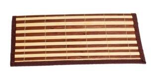 Bamboo napkin Stock Images