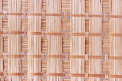 Bamboo napkin background Royalty Free Stock Photography