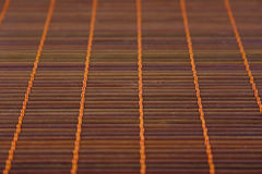 Bamboo napkin for a background number three Stock Photo