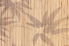 Bamboo Napkin Stock Image