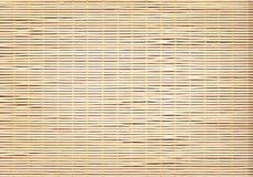 Bamboo Napkin Roll Backround Stock Photos