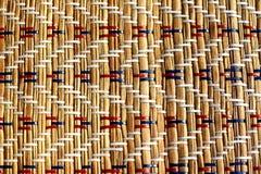 Bamboo Napkin Texture Stock Photography