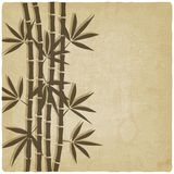 Bamboo old background Royalty Free Stock Photos