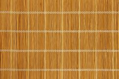 Bamboo pad background Stock Photography