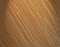 Bamboo pad background Royalty Free Stock Images
