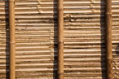 Bamboo Panel Royalty Free Stock Photo