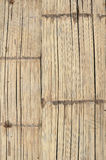 The bamboo panel. Made from pieces of bamboo Royalty Free Stock Photos