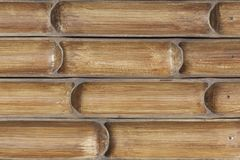Bamboo partition design Royalty Free Stock Image