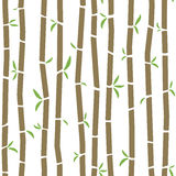 Bamboo pattern. Seamless Bamboo pattern - will tile perfectly at any size Stock Photography