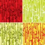 Bamboo pattern,  Stock Image