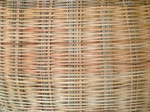 Bamboo Pattern. Basket Stock Image