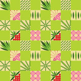 Bamboo pattern. With soft nature colors vector illustration