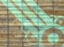 Bamboo pattern Stock Image