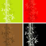 Bamboo pattern, seamless,  Stock Image