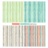 Bamboo pattern. Vector tropical seamless nature pattern.Summer pattern with bamboo Stock Photos
