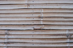Bamboo pattern wall background Stock Images