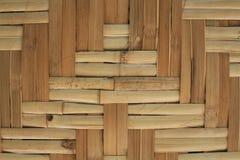 Bamboo pattern wall Royalty Free Stock Photo