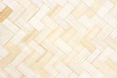 Bamboo pattern weave for background Stock Photography