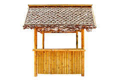 Bamboo pavilion Stock Images