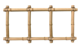 Bamboo photo frame Stock Image