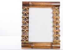 Bamboo Photoframe Stock Images