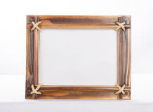 Bamboo Photoframe Royalty Free Stock Photos