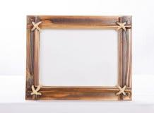Bamboo Photoframe Royalty Free Stock Photos