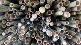 Bamboo pile Royalty Free Stock Images